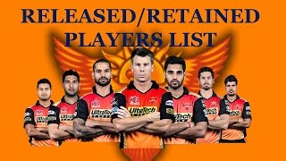 IPL 2017 Players List: Sunrisers Hyderabad Team & Squad After IPL Auction