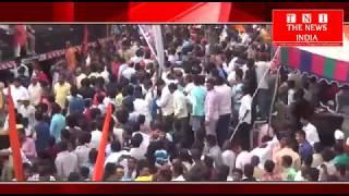 हैदराबाद में रामनवमी की शोभा यात्रा के दौरान सडको पर लाखो की भीड़ में दिखे श्रद्धालु