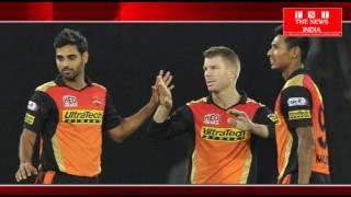 डेविड वार्नर ने हैदराबाद सनराइज को मिली जीत का श्रेय भुवनेश्वर कुमार को दिया