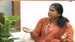 121 Special interwiew with Sadhvi Niranjan Jyoti by Shashi Tushar Sharma