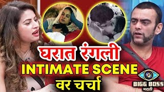 Bigg Boss Marathi Contestants Talks On Bigg Boss Hindi INTIMATE COUPLES | Megha Sai Aastad Pushkar