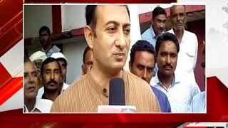धार - 8 गांव के किसानों को नहीं मिली बीमा राशि - tv24