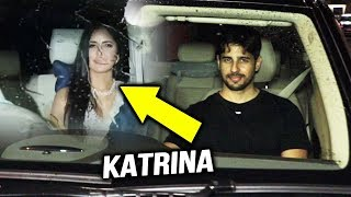Sidharth Malhotra And Katrina Kaif At Pooja Shetty Birthday Bash