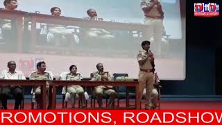 CP SAJJANAR IAUNCHING PRE RECRUITMENT OF POLICE CONSTABLE PROGRAM AT CYBERABAD