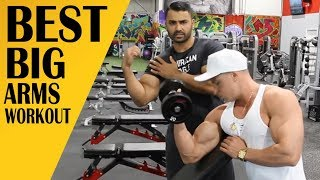 Best Workout for BIGGER ARMS featuring JOSEF RAKICH! BBRT #98 (Hindi / Punjabi)
