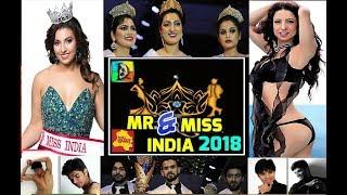 Mr., Miss and Mrs. INDIA 2018   Dellywood Fashion Models   Arbaaz Khan   Sara Khan