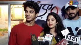 Uncut: Jhanvi Kapoor & Ishaan Khatter Celebrating Dhadak Film Success With FANS