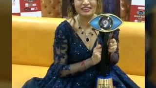 Bigg Boss Marathi Winner Megha Dhade - Winning Moment