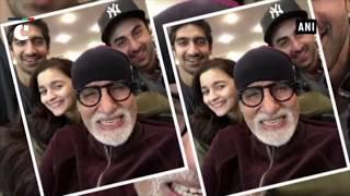 Brahmastra: Amitabh Bachchan takes a stroll in New York City with Ranbir Kapoor