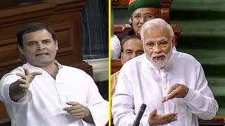 Rahul, Modi face-off on jobs in Lok Sabha