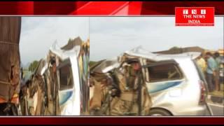 TELAGANA- मे I.P.L मैच देख कर जा रही कार हादसे का सीकर तीन लोगो की मौत