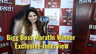 Megha Dhade Exclusive Interview - Bigg Boss Marathi Winner 2018 - BollywoodFlash