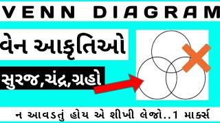 વેન આકૃતિઓ ( Venn Diagrams in gujarati ) || Gpsc exam preparation in gujarati