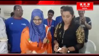 Hydrabad News - हैदराबाद की इंटरनेशनल  बॉक्सिंग चैंपियन सारा ने बच्चो को किया पुरस्कारों से सम्मान
