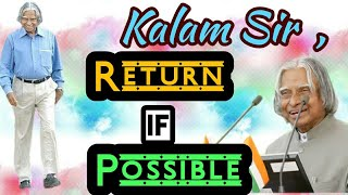 Dr. APJ ABDUL KALAM - : A tribute to the Missile Man