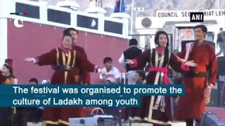 First ever Ladakh Mega Youth Festival held in Leh