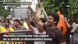 Maharashtra Bandh: Maratha 'Shinde' community called for state bandh; demands reservation