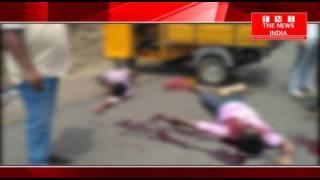 TELANGANA राज्य में बढती सड़क दुर्घटना रंगारेड्डी के शंकर पल्ली में सड़क दुर्घटना में दो की मौत