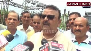 MLA Ganga inaugurates transformer at Nandpur border village