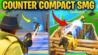 How to COUNTER Compact SMG - P90 in Fortnite Season 5 - Tips on Compact SMG in Battle Royale