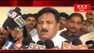 AANDHRAPRADESH : उपमुख्यमंत्री एन चिनराजप्पा ने कपू आरक्षण के मुद्दे पर की बात.....