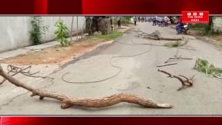 TELANGANA के मेड्चल जिले के मोला अली इण्डस्ट्रियल मे बिजली का तार टूटने से एक की मौत