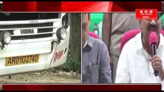 HYDERABAD में बहार से आनी वाली बसों पर अधिकारियो की करवाई केई बस जब्त