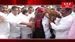 TELANGANA NEWS:सरकार द्वारा चलाई जा रही योजना के तहत मंत्री पटनम महेनदर रेड्डी  ने भेड़ वितरण किया
