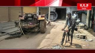 TELANGANA:के निज़ामाबाद शहर के घरो से निकलनेवाले गंदे पानी की पाइपलाइन और मैनहोल  का किया काम