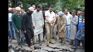 DC Srinagar takes firsthand assessment of damages from cloudburst at Faqir Gujri
