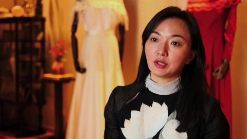 Fahion designer Ji Cheng