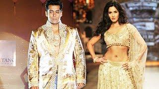 Salman Khan And Katrina Kaif To Walk The Ramp Together For Manish Malhotra