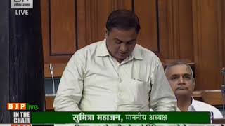 Shri Kamakhya Prasad Tasa on recent flood and drought situation in various parts of the Country