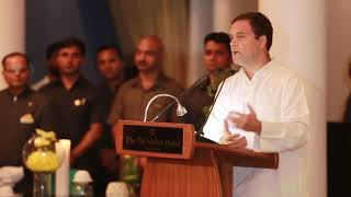Congress President Rahul Gandhi Speaks at Karan Thapar's Book Launch