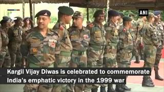 Kargil Vijay Diwas: People pay tribute to martyrs at Dras War Memorial
