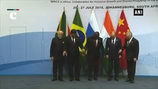BRICS Summit 2018_ PM Modi arrives in Johannesburg