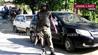 Terrorist gunned down in encounter with security forces in Handwara