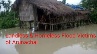 Landless & Homeless Flood Victims evicted by Administration in Diyun: What's Next For Them?