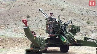 Kargil Vijay Diwas | Watch Bofors in action and how soldiers are trained for Kargil like war