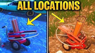 "CLAY PIGEON ALL LOCATIONS ""Shoot a Clay Pigeon at different Locations"" FORTNITE WEEK 3 SEASON 5"