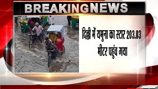 Traffic affected as rain continues to lash Delhi-NCR