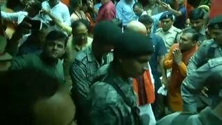 Shri Amit Shah lays foundation stone of Yog & Meditation Centre of Sh Sh Panch Dashnam Juna Akhara