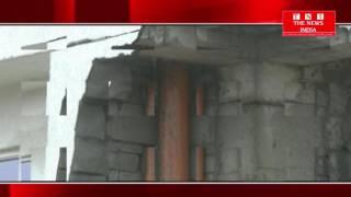 ANDHR प्रदेश के सचिवालय की बारिश की वजह से छत गिरी