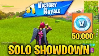 Watch How To Win All Games In Solo Showdown In Fortnite Video