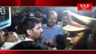 TELANGANA यूथ कांग्रेस के अध्यक्ष अनिल यादव को नशीली पदार्थ के बेन के खिलाफ किया पर्दशन हुए गिरफ्तार