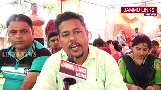 MGNREGA employees hold protest, demand regularization of services