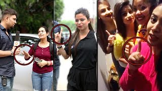 Isme Tera Ghata GIRLS EXPOSED by NEWS REPORTER prank | Pranks in India 2018 | Unglibaaz