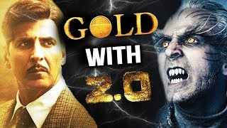 Robot 2 Teaser To Release With Akshay Kumar's GOLD On 15th Aug 2018
