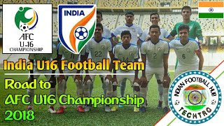 India U16 - AFC U16 Championship | Journey • Goals and highlights