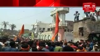 "[BIHAR]/Nitish's ""good governance"" burns Bihar, Murthy's breaking up on fire in Nawada"